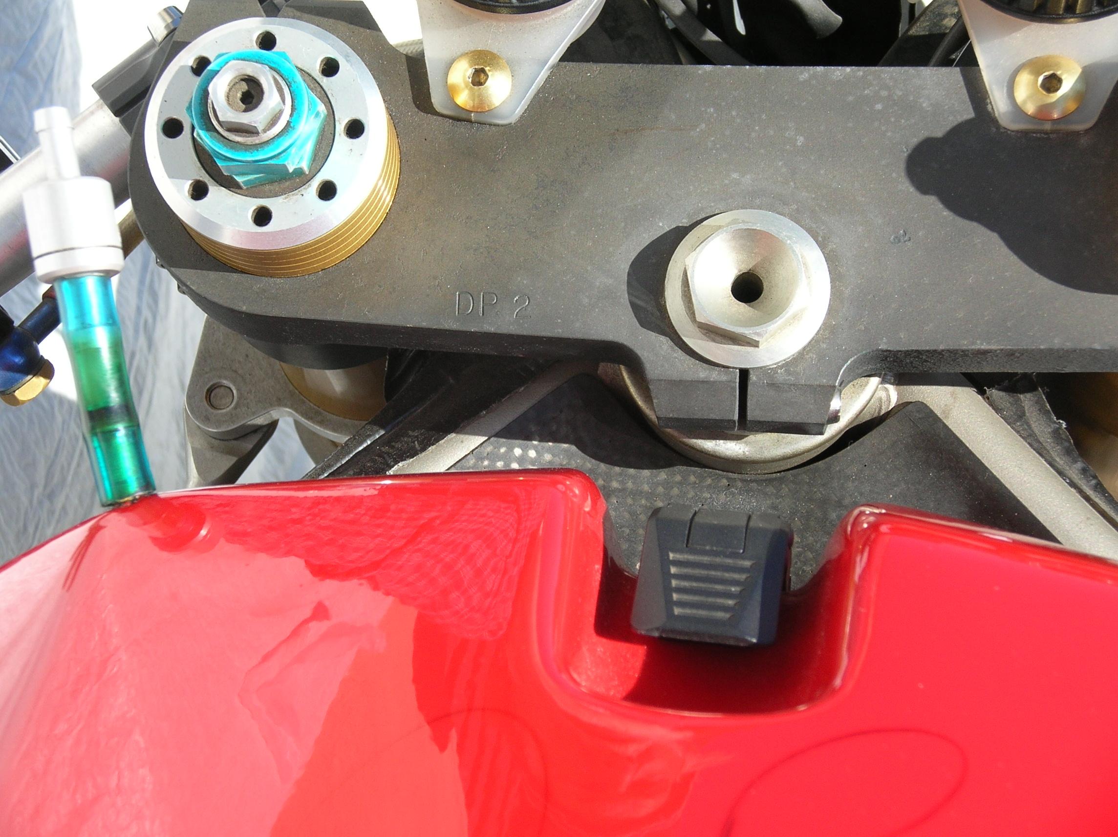 888 corsa top clamp